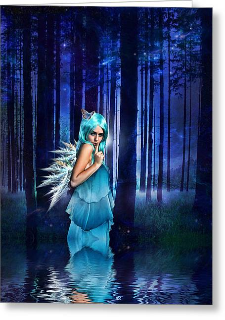 Flood Digital Greeting Cards - Shhhhh we exist Greeting Card by Sharon Lisa Clarke