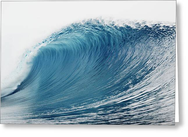Vince Greeting Cards - Shimmering Pipeline Wave Greeting Card by Vince Cavataio - Printscapes