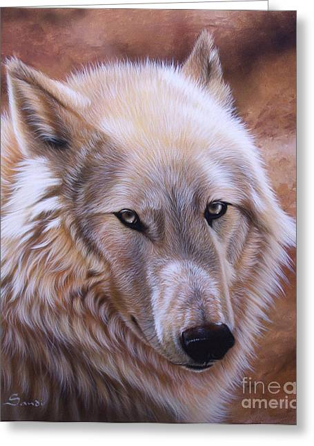 Wolf Song Studio Greeting Cards - Shine Greeting Card by Sandi Baker