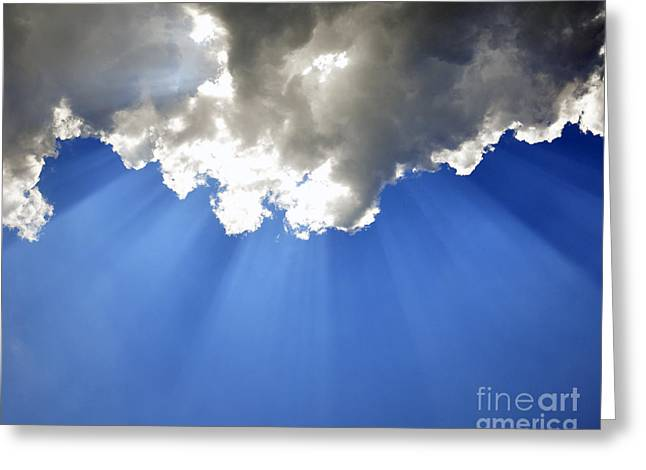 Al Powell Photography Usa Greeting Cards - Shining Down Greeting Card by Al Powell Photography USA