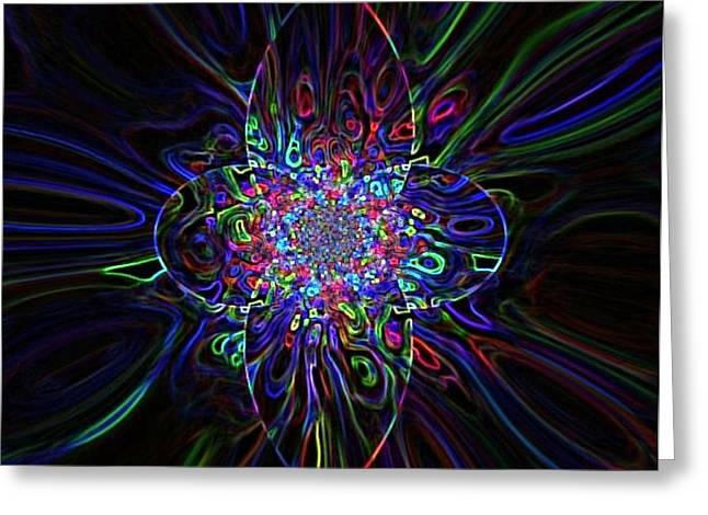 shining star Greeting Card by Katina Cote