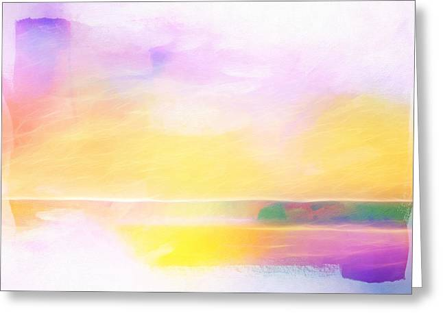 Meditate Greeting Cards - Shining Vision Greeting Card by Lutz Baar