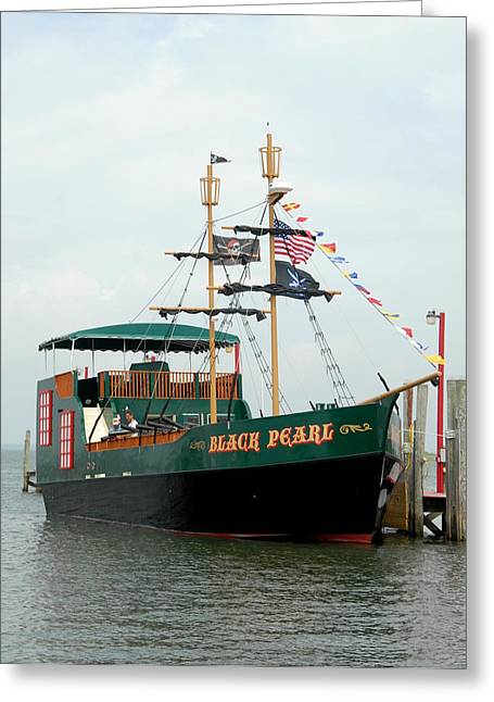 Pirate Haven Greeting Cards - Ship 14 Greeting Card by Joyce StJames