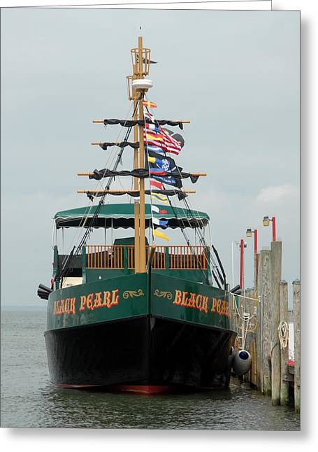 Pirate Haven Greeting Cards - Ship 15 Greeting Card by Joyce StJames