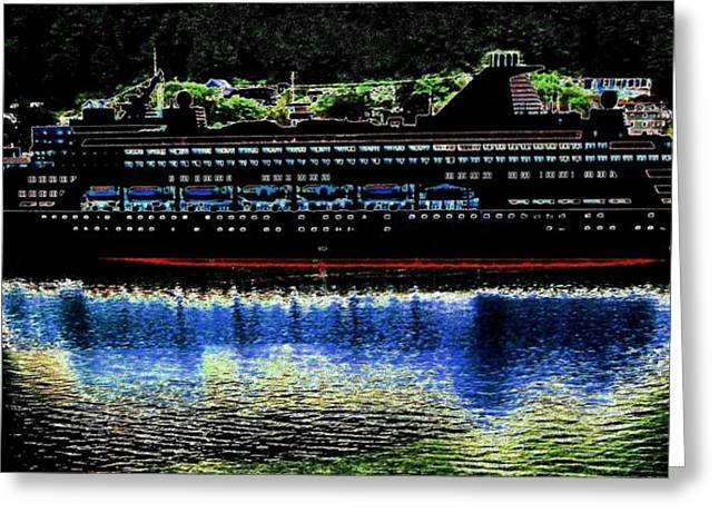 Boat Cruise Greeting Cards - Shipshape 8 Greeting Card by Will Borden