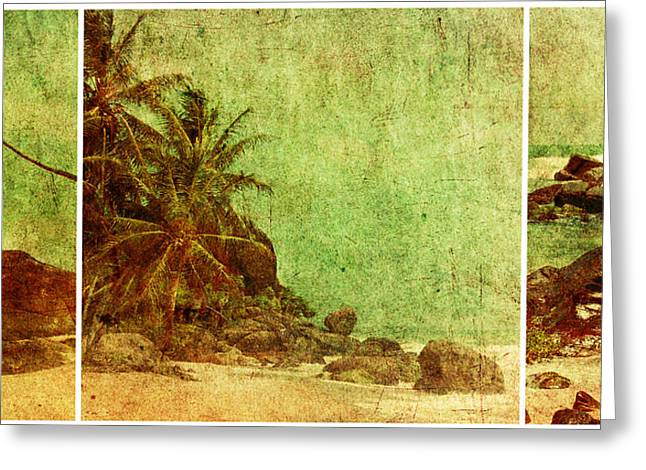Sri Lanka Greeting Cards - Shipwrecked Greeting Card by Andrew Paranavitana
