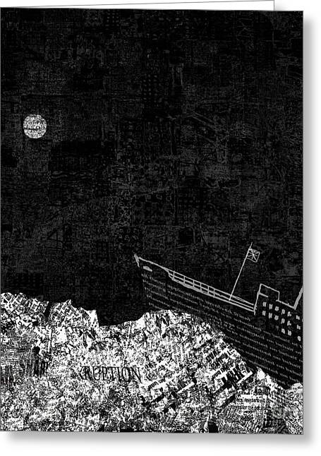 Duke Of Lancaster Greeting Cards - Shipwrecked II  Greeting Card by Andy  Mercer