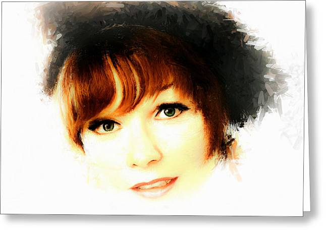 Legend Greeting Cards - Shirley MacLaine Greeting Card by Arne Hansen