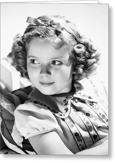 Shirley Temple Greeting Cards - Shirley Temple (1928-  ) Greeting Card by Granger