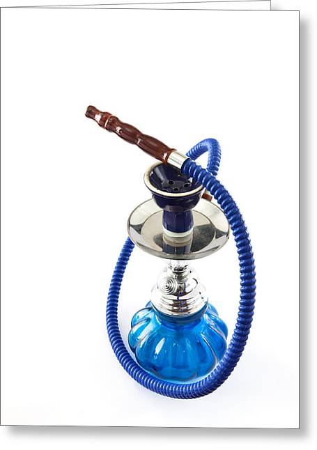 Charcoal Photographs Greeting Cards - Shisha Greeting Card by Tom Gowanlock