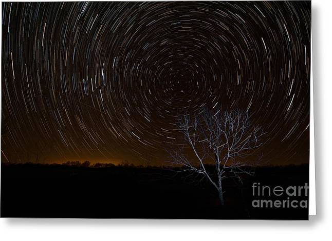 Constellations Greeting Cards - Shooting Stars Greeting Card by George Buxbaum