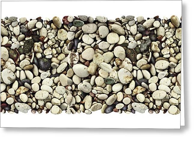 Lake Michigan Greeting Cards - Shore Stones 3 Greeting Card by JQ Licensing
