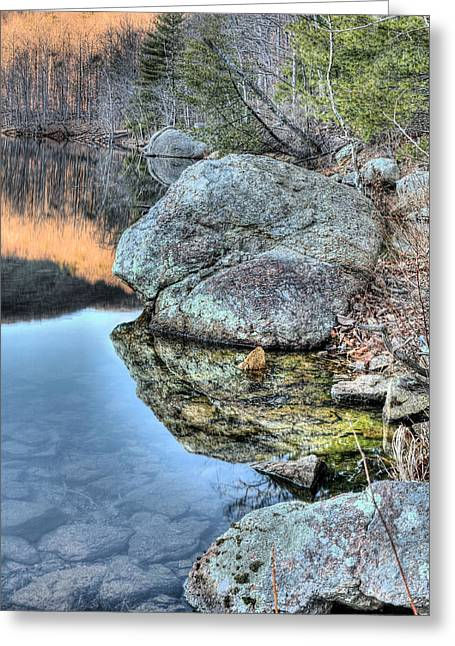Charlottesville Greeting Cards - Shorelines  Greeting Card by JC Findley