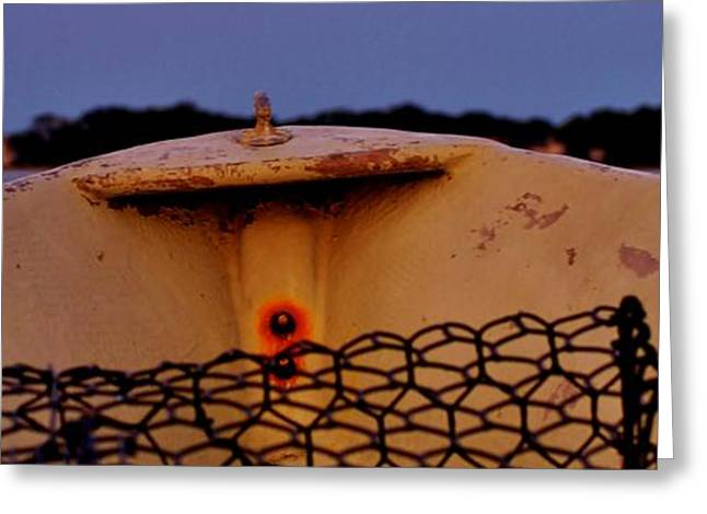 Us Traditional Sports Greeting Cards - Shot Over the Bow Greeting Card by William Bartholomew