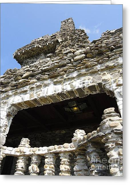 Gillette Castle Greeting Cards - Side of a Castle Greeting Card by Meandering Photography