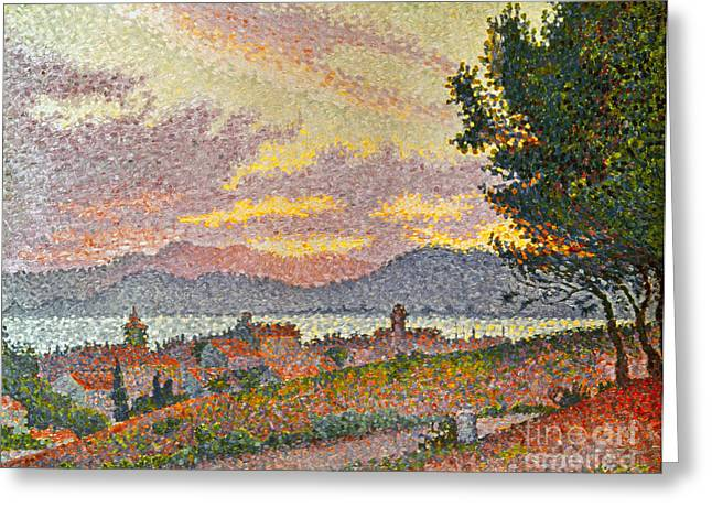 St.tropez Greeting Cards - Signac: St Tropez, 1896 Greeting Card by Granger