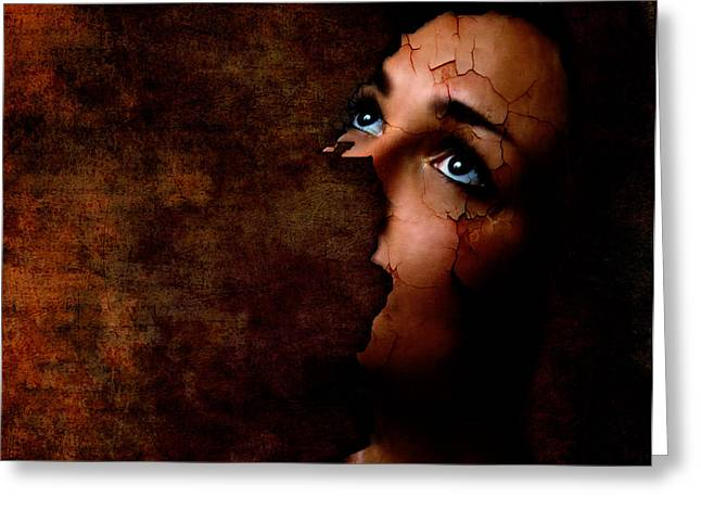 Silenced Greeting Card by Photodream Art
