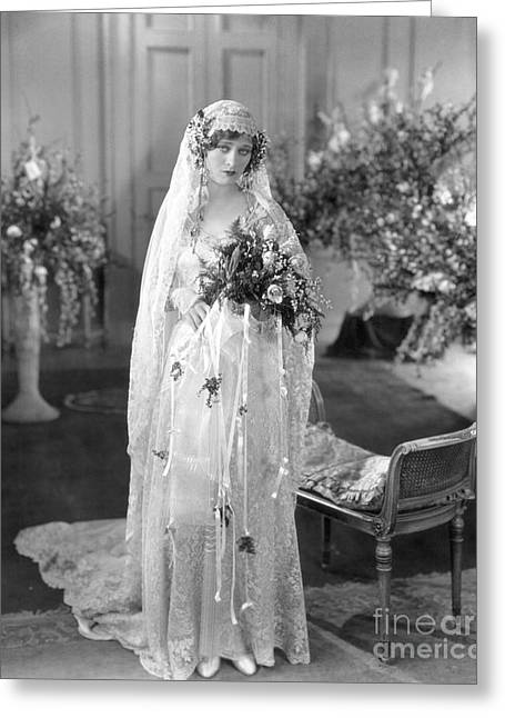 Costello Greeting Cards - Silent Film: Wedding Greeting Card by Granger