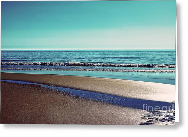 Hannes Cmarits Greeting Cards - Silent Sylt - Vintage Greeting Card by Hannes Cmarits