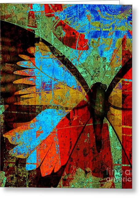 Silently Dreaming Greeting Card by Fania Simon