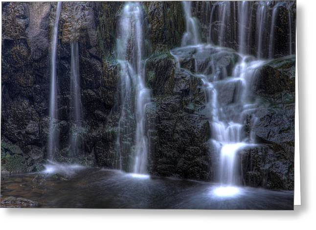 Buttermilk Falls Greeting Cards - Silk  Greeting Card by Jeff Bord