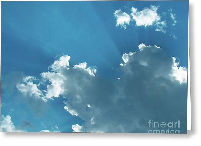 Holdorf Greeting Cards - Silver Lining Greeting Card by Kurt Holdorf