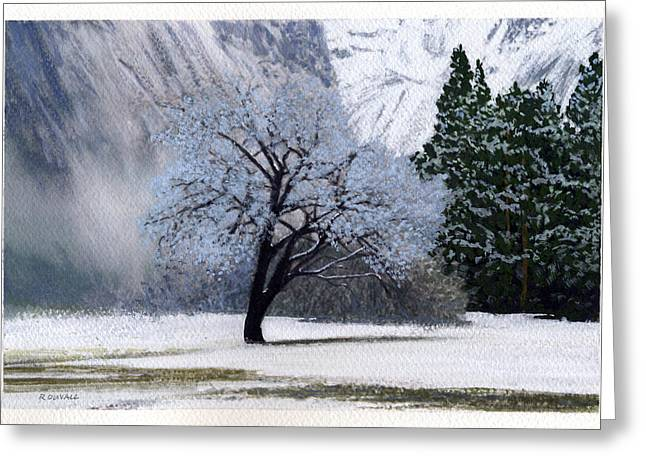 Robert Duvall Greeting Cards - Silver Tree Greeting Card by Robert Duvall