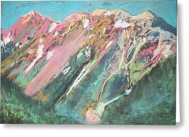 Highway Pastels Greeting Cards - Silverton to Durango Greeting Card by Heath Draney