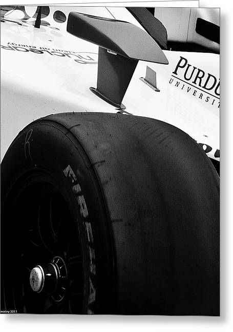 Indy Car Greeting Cards - Silvestro Greeting Card by Michael Nowotny