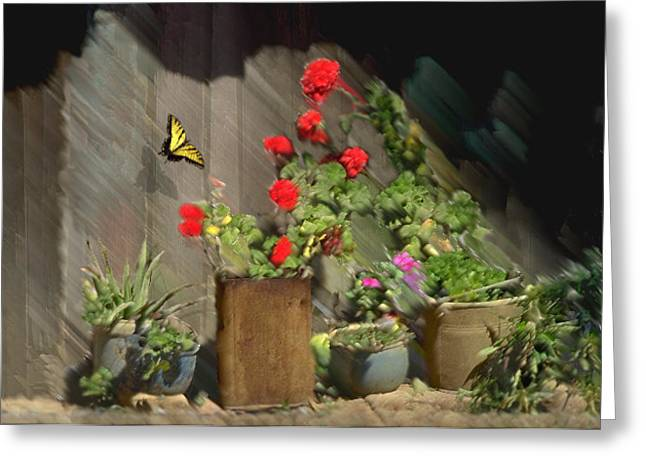 Flower Still Life Prints Greeting Cards - Simple Beauty Greeting Card by Jerry McElroy