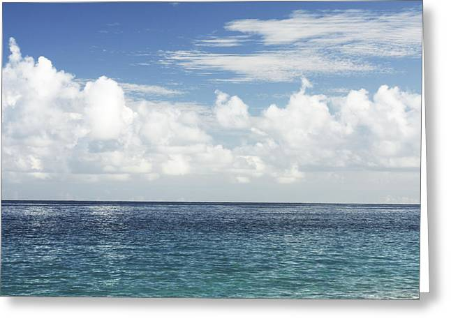 Vince Greeting Cards - Simple Ocean 3 Greeting Card by Vince Cavataio - Printscapes