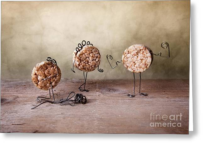 Fat Greeting Cards - Simple Things 07 Greeting Card by Nailia Schwarz