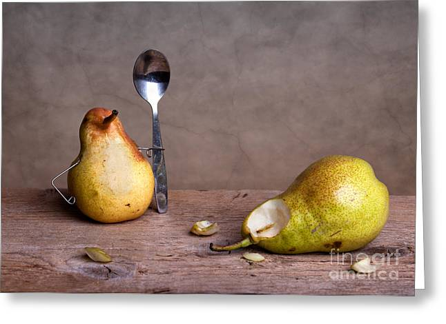 Pear Art Photographs Greeting Cards - Simple Things 14 Greeting Card by Nailia Schwarz