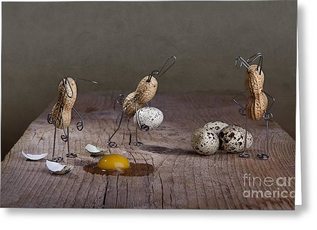 Easter Greeting Cards - Simple Things Easter 04 Greeting Card by Nailia Schwarz