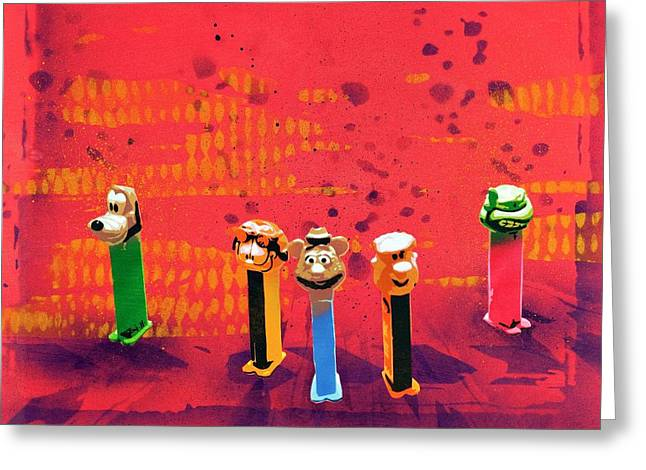 Toys Mixed Media Greeting Cards - Simple Things in Life Make Me Smile Greeting Card by Iosua Tai Taeoalii