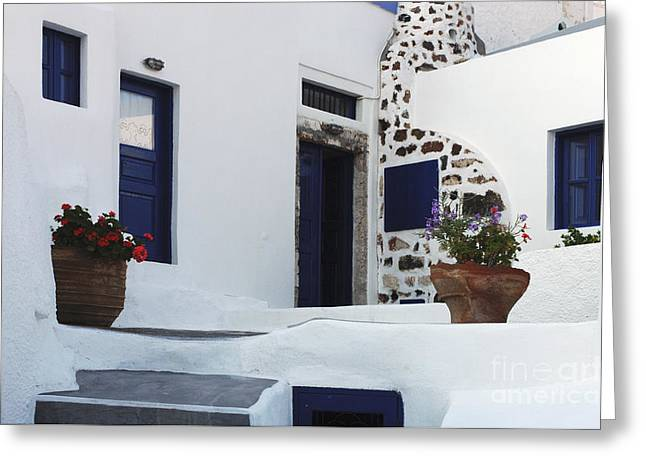 Greek Architecture Greeting Cards - Simplicity Of Design Greeting Card by Bob Christopher