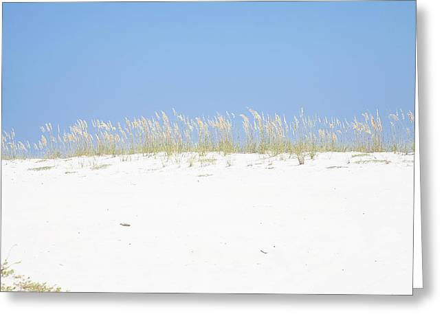 Beach Photographs Greeting Cards - Simplicity Greeting Card by Toni Hopper