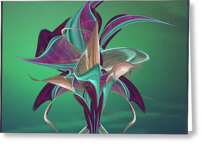 Simply Elegant Greeting Card by Anne Lacy