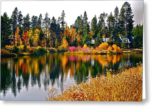 Sunriver Greeting Cards - Simply Paradise Greeting Card by Dorota Nowak