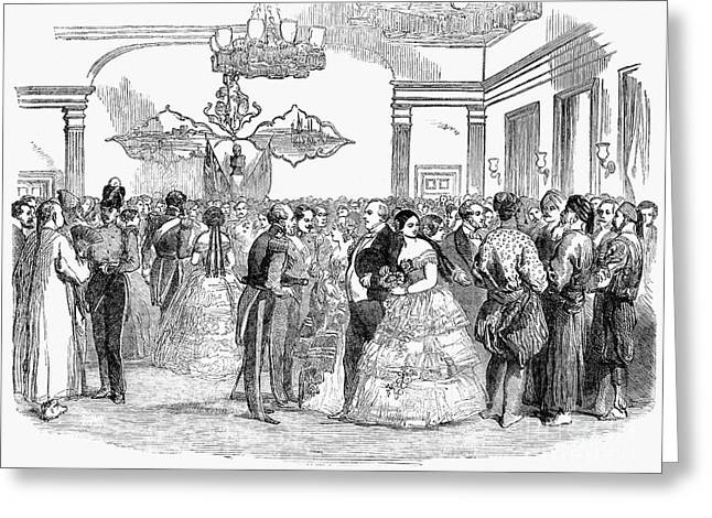 SINGAPORE: BALL, 1854 Greeting Card by Granger