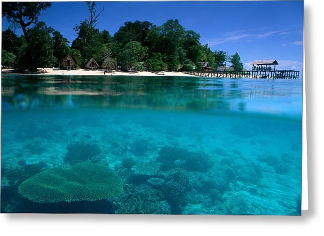 Sipadan Greeting Cards - Sipadan Island in Malaysia Greeting Card by Ed Robinson - Printscapes