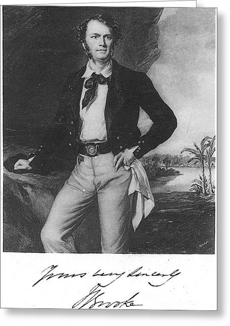 Brookes Greeting Cards - Sir James Brooke (1803-1868) Greeting Card by Granger