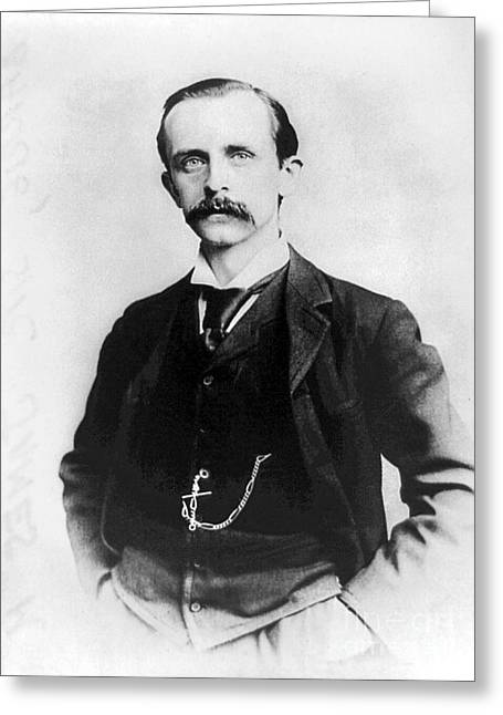 Barrie Greeting Cards - Sir James Matthew Barrie Greeting Card by Granger