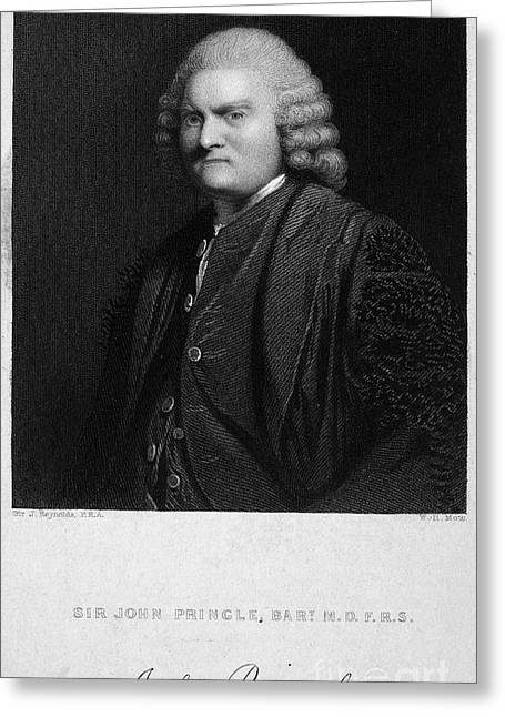 Autograph Greeting Cards - Sir John Pringle Greeting Card by Granger