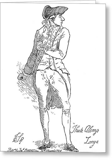 Junius Greeting Cards - Sir Philip Francis (1740-1818) Greeting Card by Granger