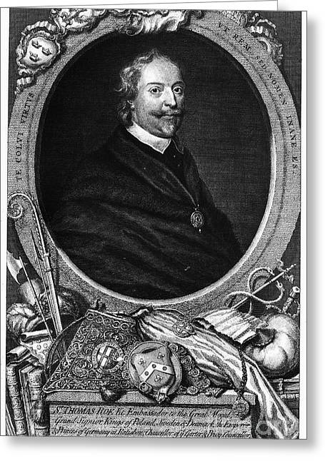 Diplomat Greeting Cards - SIR THOMAS ROE (c1581-1644) Greeting Card by Granger
