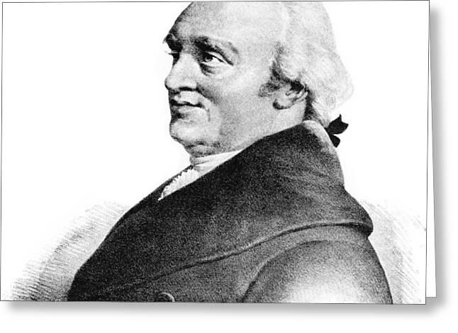 Sir William Herschel, British Astronomer Greeting Card by