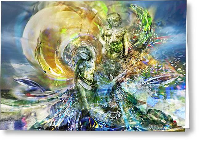 Sirens Greeting Card by Kenneth Hadlock