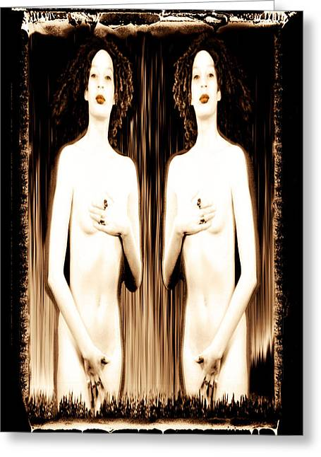 Most Favorite Photographs Greeting Cards - Sisters of Silence Greeting Card by Fine Art  Photography