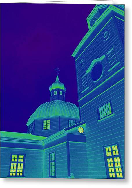 Alaskan Architecture Greeting Cards - Sitka Russian Orthodox 3 Greeting Card by Randall Weidner